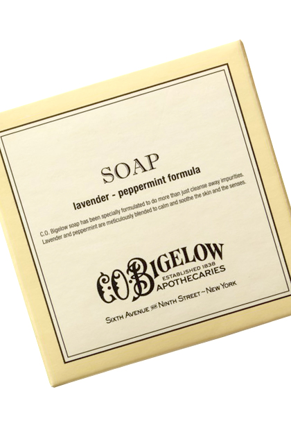 No. 1: C.O. Bigelow Lavender/Peppermint Soap, $1