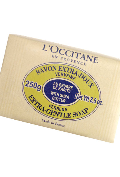 No. 9: L'Occitane Shea Butter Extra Gentle Soap, $10