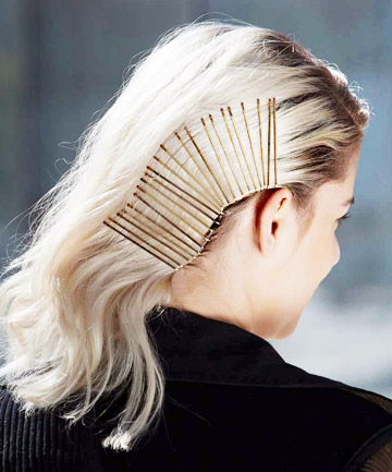 Bobby Pin Hairstyles Side Swept 12 Gorgeous Bobby Pin Hairstyles