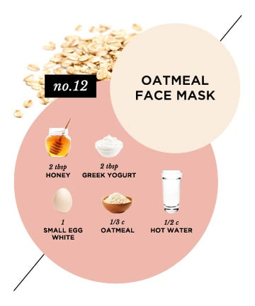 Calming Oatmeal Face Mask