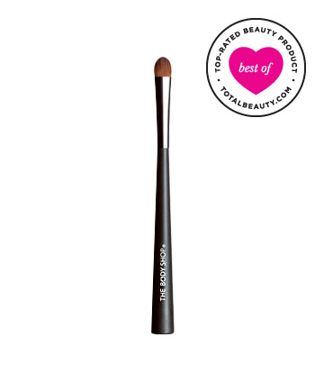 Best Makeup Brush No. 7: The Body Shop Eyeshadow Brush, $16