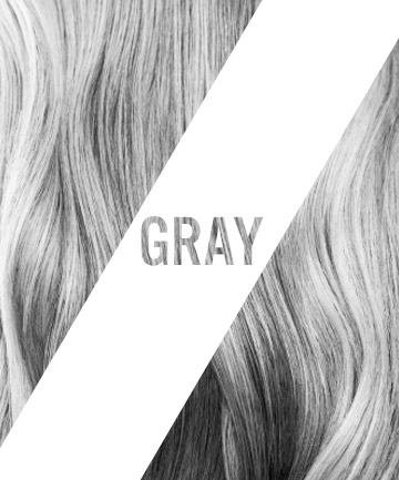Colorful Hair: Gray