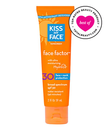 Best Sunscreen for Your Face No. 5: Kiss My Face Face Sunscreen Face Factor SPF 30, $12.95