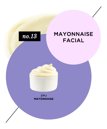 Skin-Saving Mayonnaise Facial