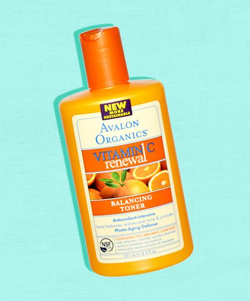 No. 11: Avalon Organics Vitamin C Balancing Facial Toner, $12.50