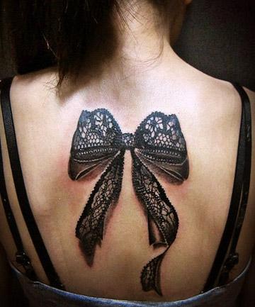3D Tattoos: Bow Down