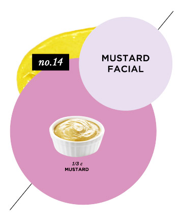Skin-Balancing Mustard Facial