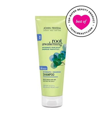 Best Drugstore Shampoo No. 11: John Frieda Hydrate + Nourish Shampoo for Dry Scalp & Breakage-Prone Hair, $6.79