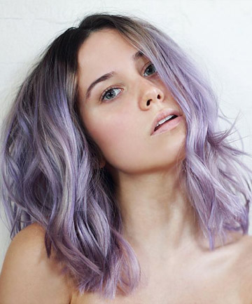 Silver Lining , 21 Lavender Hair Looks That Will Make You Grab Hair ...