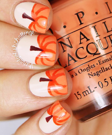 Pumpkin Patch 19 Amazing Diy Halloween Nail Art Ideas Page 9