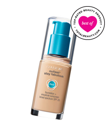 Best Drugstore Beauty Product No. 26: CoverGirl Outlast Stay Fabulous 3-in-1 Foundation, $11.29