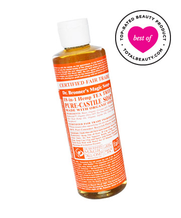 Best Green Product No. 5: Dr. Bronner's Tea Tree Liquid Soap, $10.99