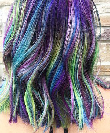 Star Light Star Bright 17 Galaxy Hair Ideas That Bend
