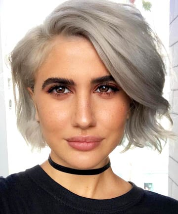 does dying your hair make it grey