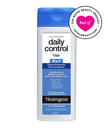 The Best: No. 3: Neutrogena T/Gel Daily Control 2-in-1 Dandruff Shampoo Plus Conditioner, $6.99