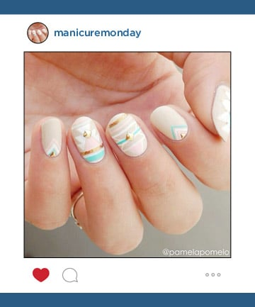 Mani of the Week: A Nail Junkie's Gorgeous Hand-Painted Nail Art