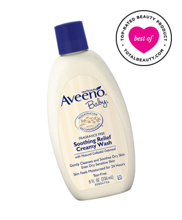 Best Body Wash No. 9: Aveeno Baby Soothing Relief Creamy Wash, $6.99