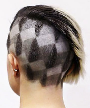 Badass Houndstooth , 21 Undercuts for a Hairstyle That\'s Badass AF ...