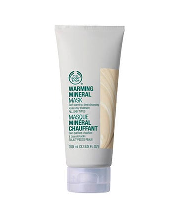 Best Face Mask No. 7: The Body Shop Warming Mineral Mask, $12.60