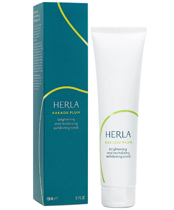 Herla Kakadu Plum Brightening and Revitalizing Exfoliating Scrub, $35