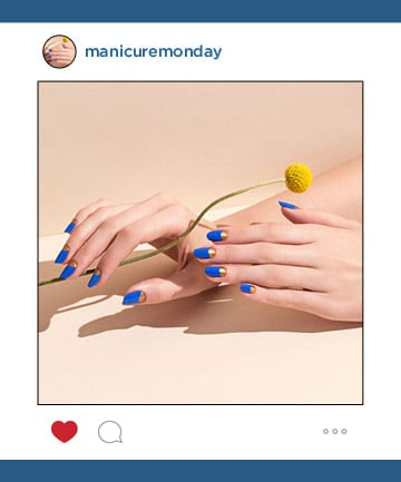 Mani of the Week: Paintbox's Half-Moon Nail Art