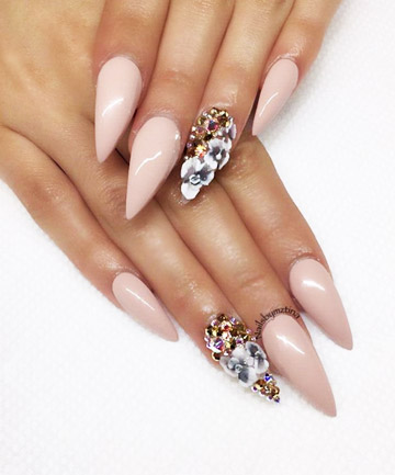Nude Scene, 27 Stiletto Nails That Will Take Your Manicure to the ...