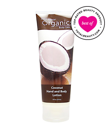 No. 5: Desert Essence Organics Coconut Hand and Body Lotion, $8.99