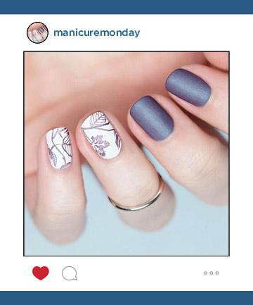 Nail Art of the Week: Elegant, Easy Fall Nails