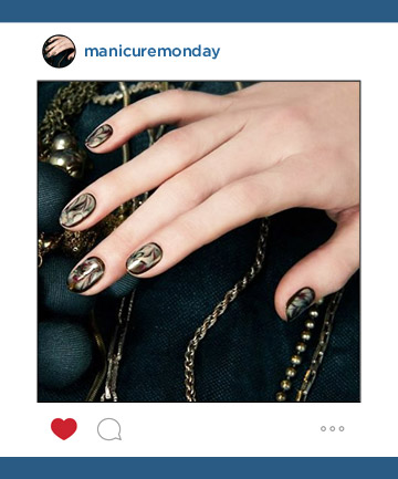 Nail Art of the Week: Jin Soon's Manic Marble Manicure