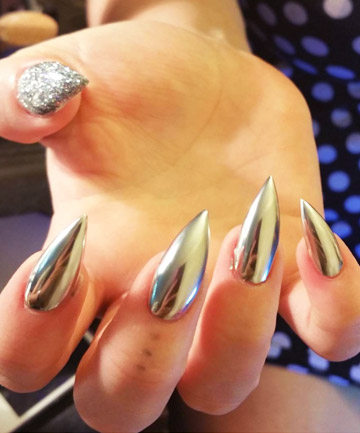 Silver Lining Funny How A Filing Your Nails Into Perfect Point And Painting Them Can Make Look Like High Tech Eship