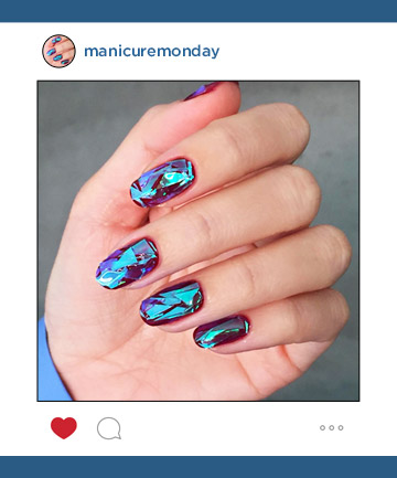 Mani of the Week: Shattered Glass Nails