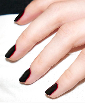 Black with Red Outline