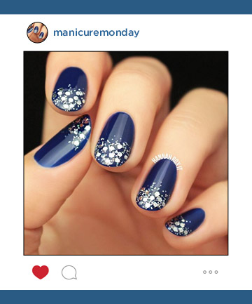 Mani of the Week: Starry Winter Nails
