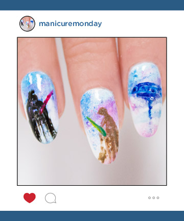 Mani Of The Week Star Wars Nails Manicuremonday The Best Nail
