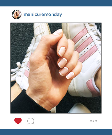 Mani of the Week: Modern French Manicure
