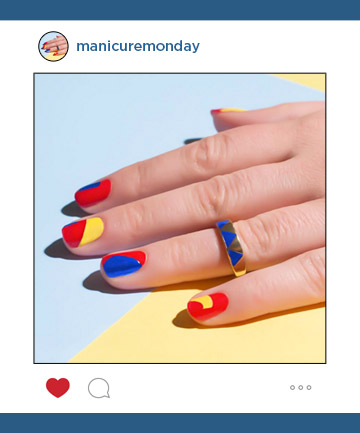 Mani of the Week: Colorful Nails