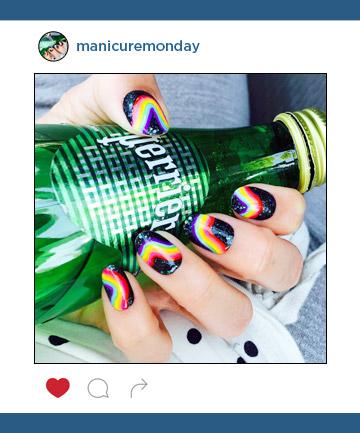 Mani of the Week: Rainbow Nails
