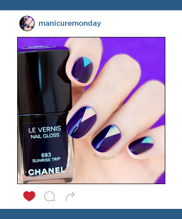 Mani of the Week: Purple Nails