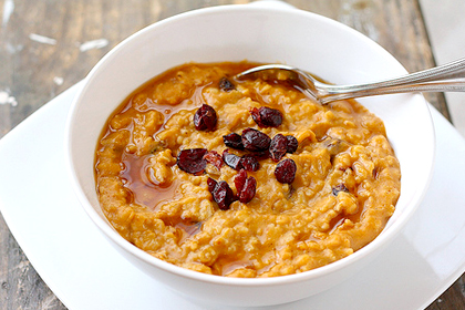 Breakfast Pumpkin Oatmeal