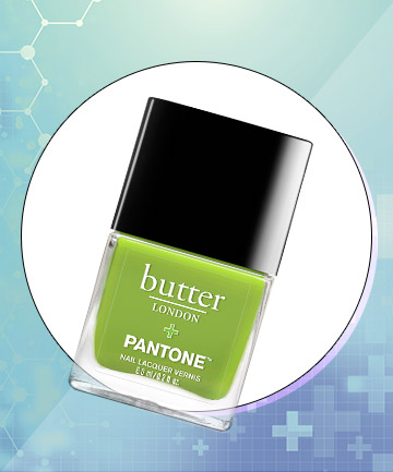 Butter London Nail Lacquer + Pantone in Greenery, $10