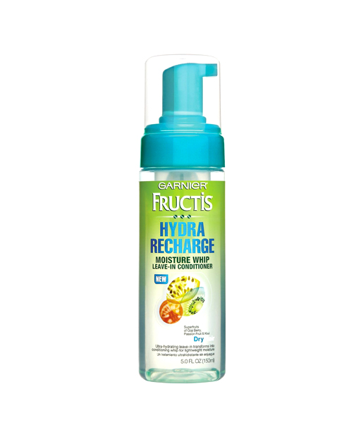No. 8: Garnier Fructis Hydra Recharge Moisture Whip Leave In Conditioner, $6.09