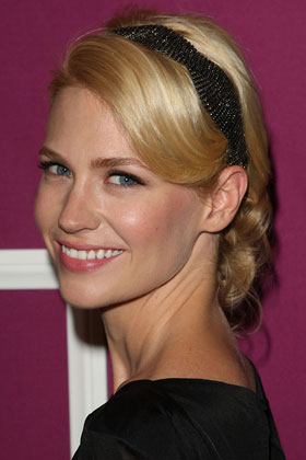 January Jones, 9 Hairstyles You Can Wear to the Office ...