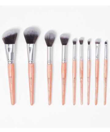Bh Cosmetics Rose Quartz Brush Set 12