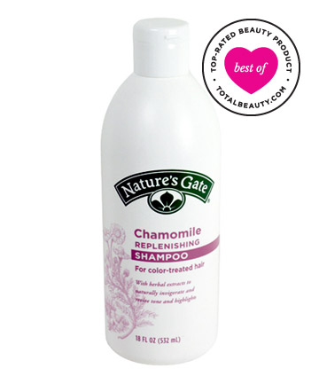 No. 8: Nature's Gate Chamomile Replenishing Shampoo, $7.79