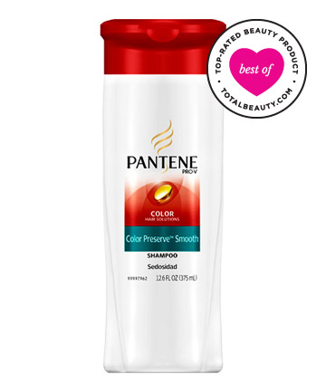 No. 5: Pantene Pro-V Color Hair Solutions Color Preserve Smooth Shampoo, $ 3.99