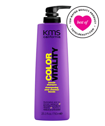 No. 3: KMS California Color Vitality Blonde Shampoo, $13.60