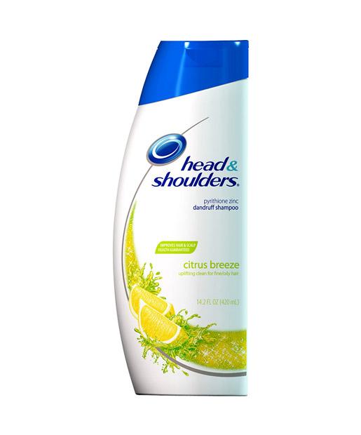No. 7: Head & Shoulders Citrus Breeze Shampoo, $5.79