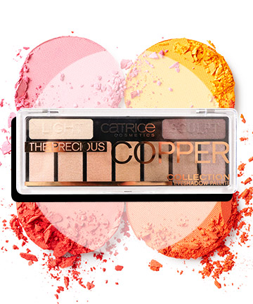 Catrice The Precious Copper Eyeshadow Palette, $7.99