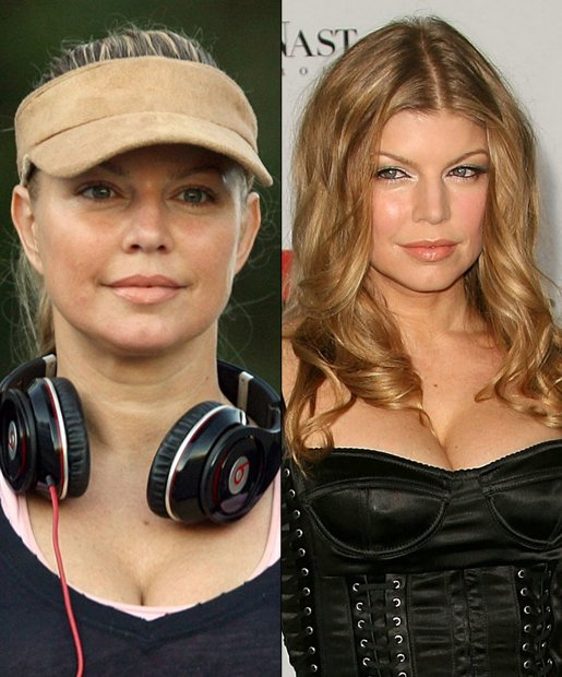 Celebs Without Makeup (You Know You Can't Resist) - (Page 2) Fergie Singer