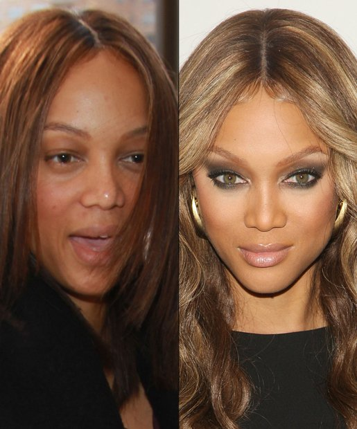 Tyra Banks Teenager: T.I.P.S. Celebrities Without Makeup!!
